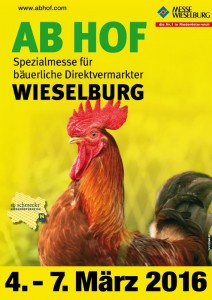 AB HOF 2016 Trade Fair from 4th to 7th March in Wieselburg, Lower Austria