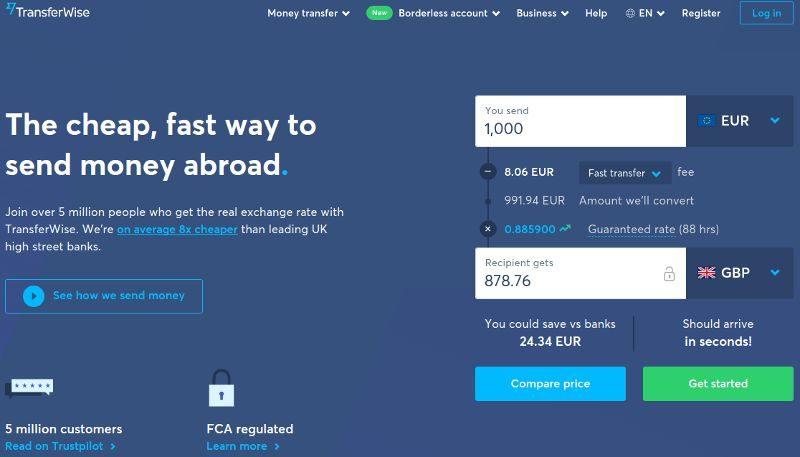 Fee Free International Transfer